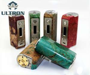 SXK Ultron Stabilized Wood 26650 70W BOX MOD - Vape Cao Cấp