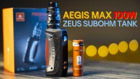 Combo Vape Tốt Nhất Cho Người Mới Chơi Vape | Geekvape Aegis Max 100W Kit