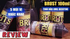 Bruts 100ml - Tinh Dầu Không Chứa Nicotine Đến Từ Malaysia