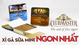 Xì Gà Sữa Clubmaster Mini - Cigar Siêu Ngon Xuất Xứ Từ Đức