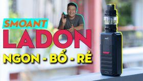 Ladon 225W - Vape Kit Nhỏ Gọn Đến Từ Hãng Smoant
