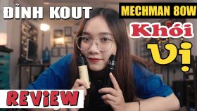 Rincoe Mechman 80W Vape Pen Siêu Khói Vị Giá Rẻ 2019