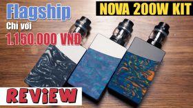 Đánh Giá Nhanh Geekvape Nova 200W Kit - Resin Thật