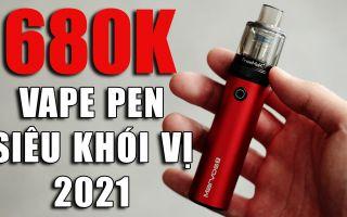 Vape Pen Tốt Nhất 2021 Freemax Marvos T 80W Kit Siêu Khói Vị