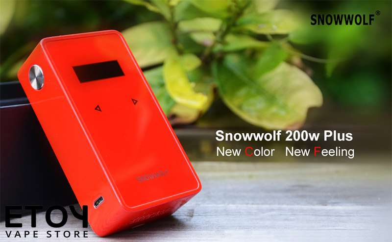 snow wolf 235W touch red