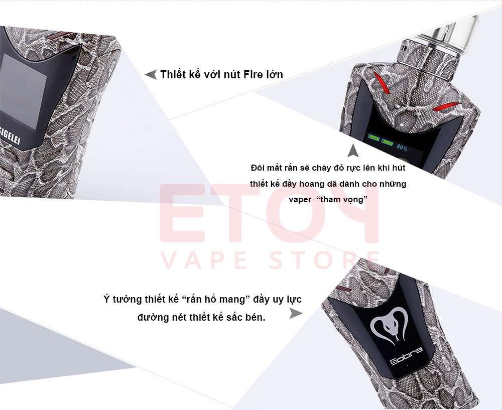 vape mod thuốc lá điện tử đẹp
