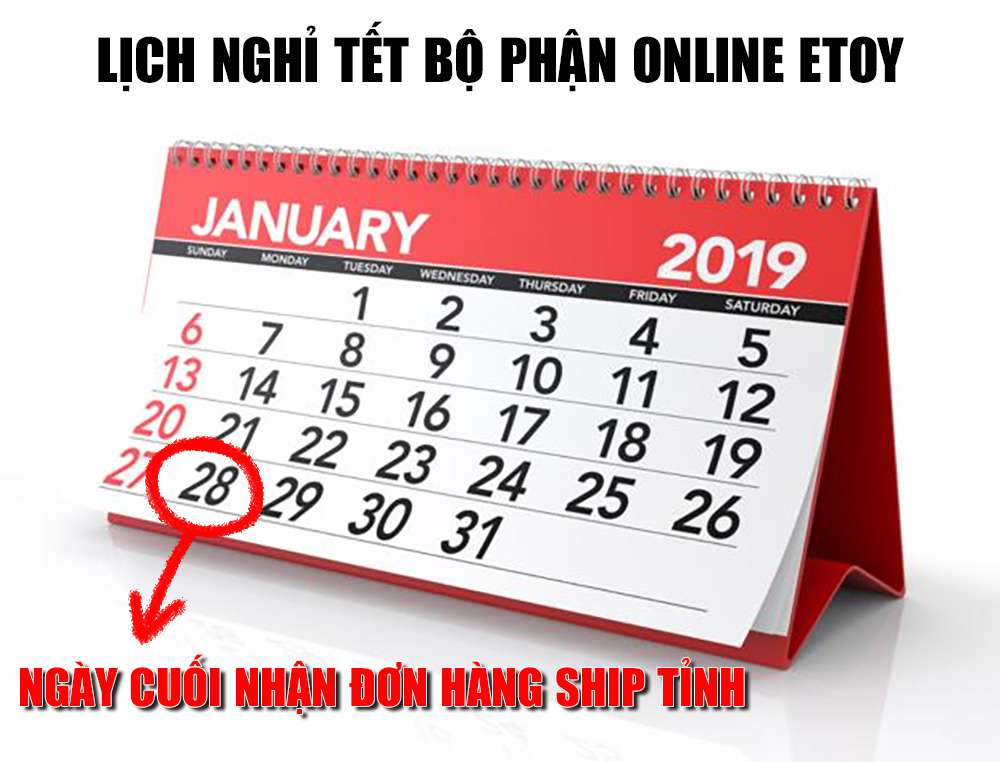lịch nghỉ tết online