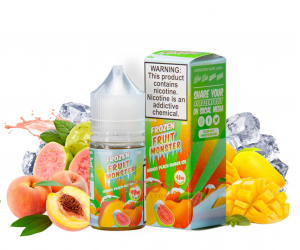 Frozen Fruit Monster Salt Mango Peach Guava Ice 30ml Chính Hãng