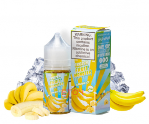 Frozen Fruit Monster Salt Banana Ice 30ml Chính Hãng