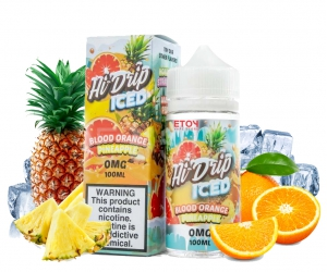 Hi Drip ICED Blood Orange Pineapple 100ml - Tinh Dầu Vape Mỹ