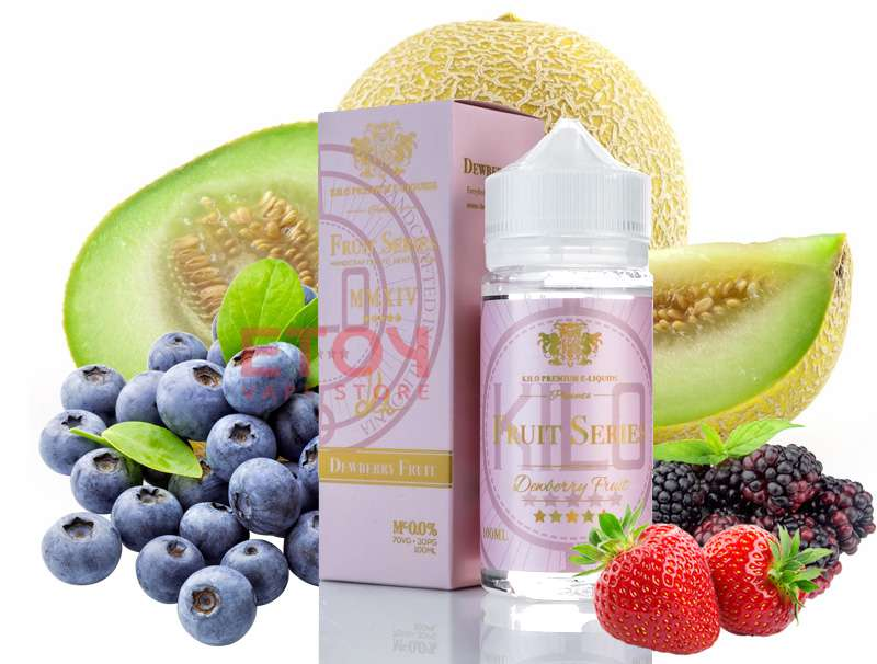 Kilo Fruit Series Dewberry Fruit 100ml - Tinh Dầu Vape Mỹ