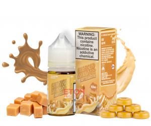 Custard Monster Salt Butterscotch 30ml - Tinh Dầu Vape Mỹ
