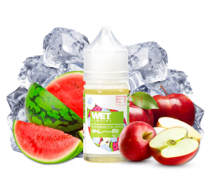 Wet Salt Iced Watermelon Apple 30ml - Tinh Dầu Vape Mỹ