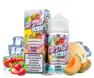 Hi Drip ICED Honeydew Strawberry 100ml - Tinh Dầu Vape Mỹ