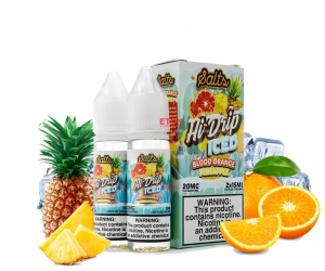 Hi Drip Iced Salt Blood Orange Pineapple 30ml - Tinh Dầu Vape Mỹ