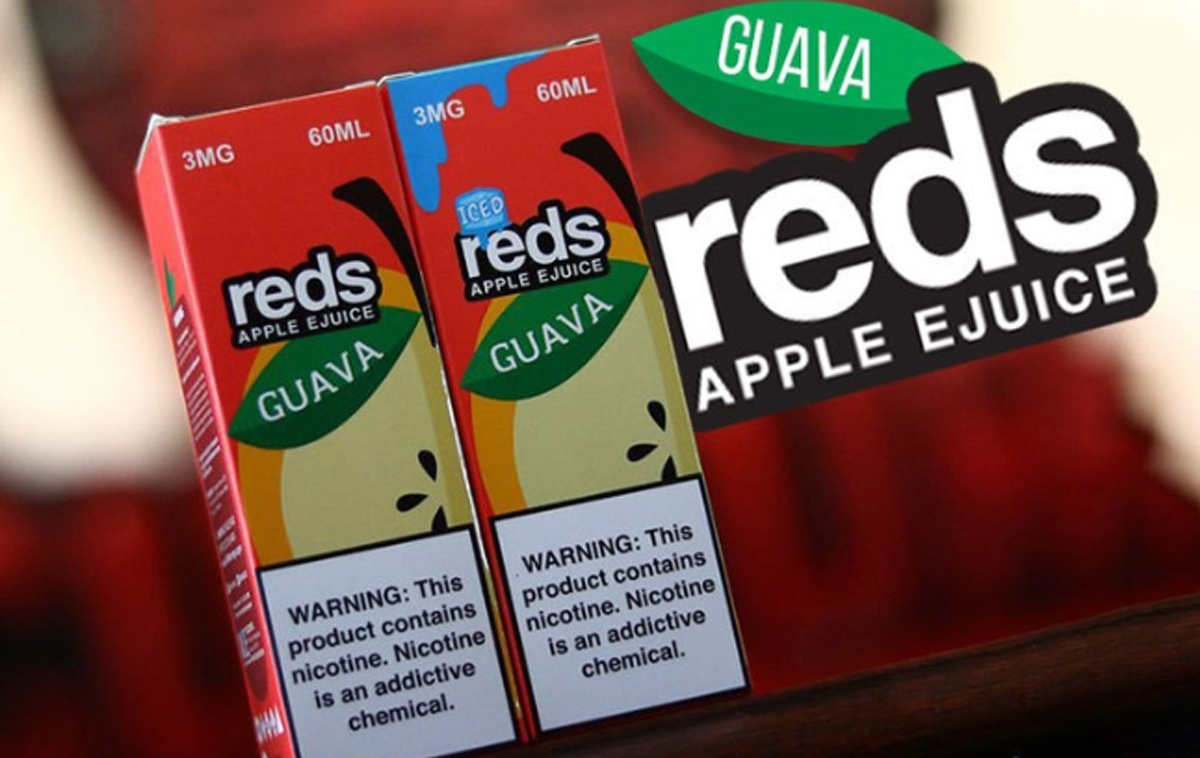 Reds Apple tinh dau vape chinh hang