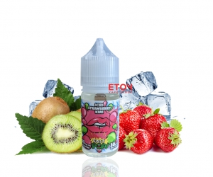 Iced Pop Salt Strawberry Kiwi 30ml - Tinh Dầu Vape Mỹ