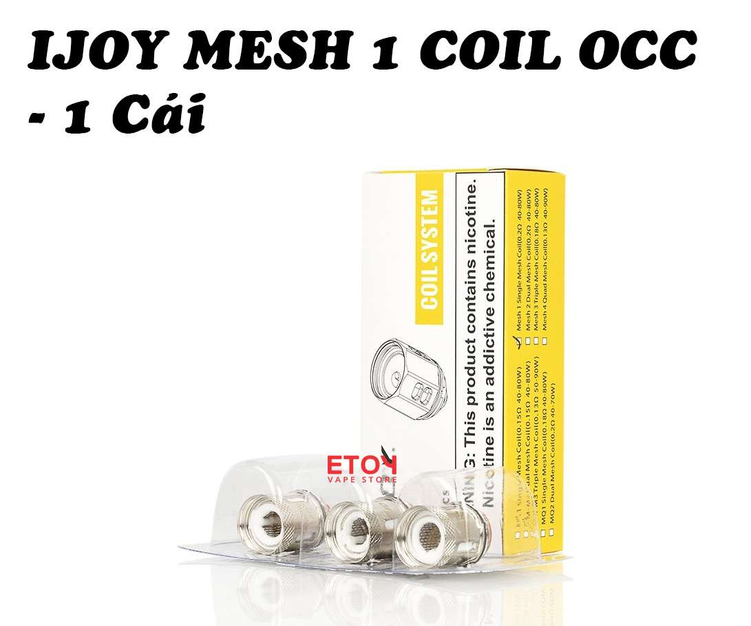Coil Occ Ijoy Mesh 1 Cho Diamond, Avenger, Shogun Jr Kit