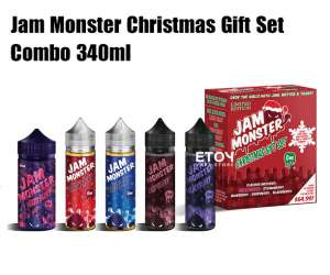 Jam Monster Christmas Gift Set 340ml - Tinh Dầu Vape Mỹ