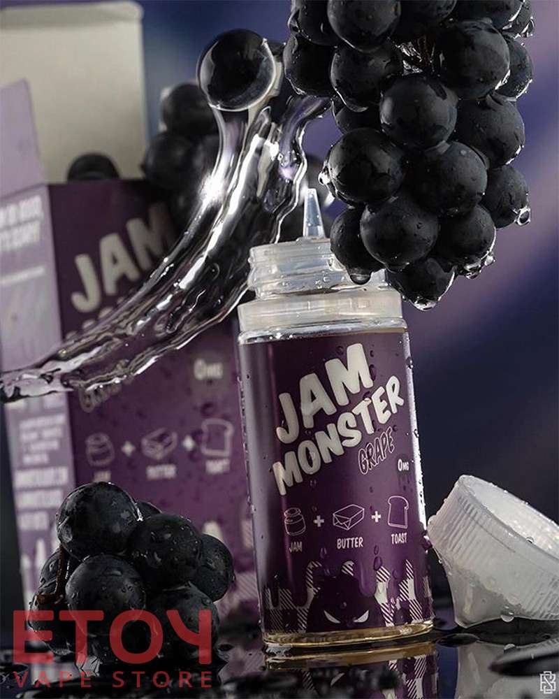 tinh dau vape jam monster