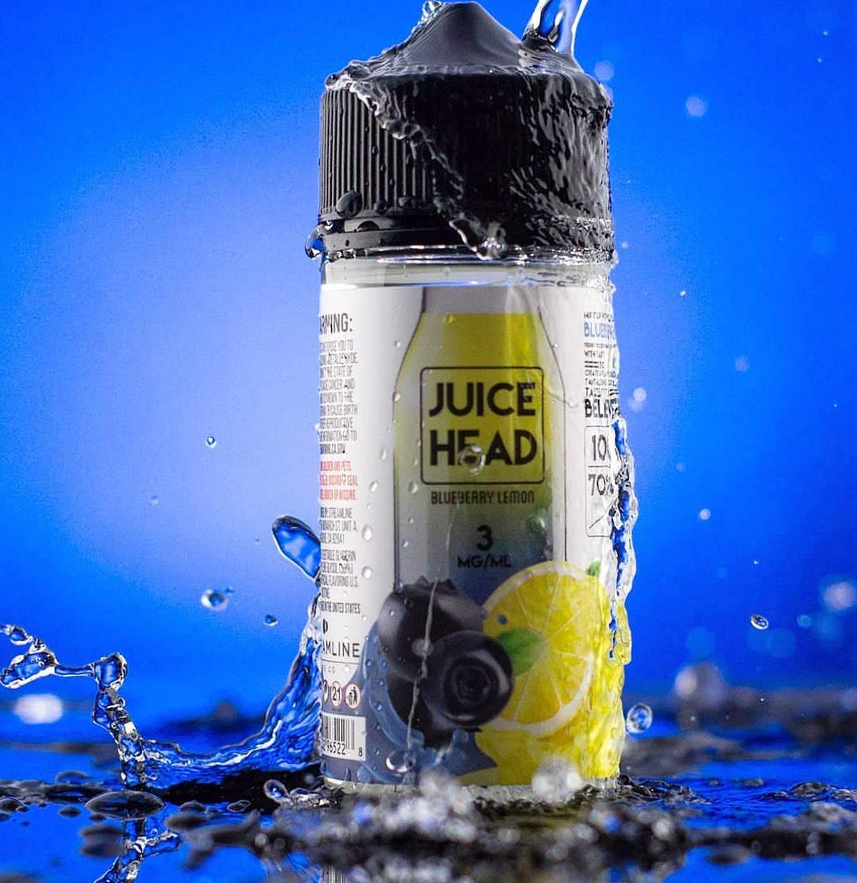 Juice Head Blueberry Lemon Tinh dau vape chinh hang ho chi minh